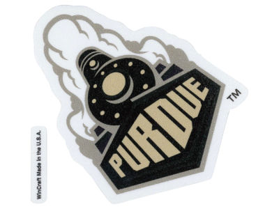 Purdue Boilermakers 4x4 Die Cut Decal Color
