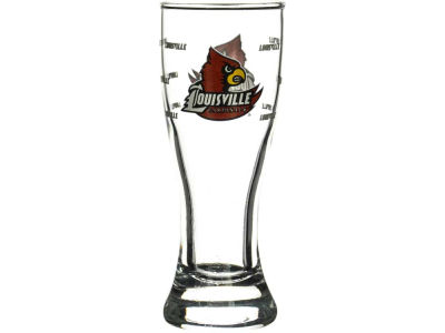 Louisville Cardinals Satin Etch Mini Pilsner
