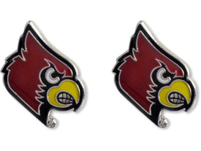 Louisville Cardinals Logo Post Earrings