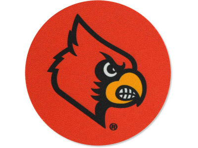 Louisville Cardinals 4-pack Neoprene Coaster Set