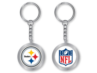 Pittsburgh Steelers Spinning Keychain