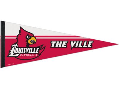 Louisville Cardinals 12x30in Pennant