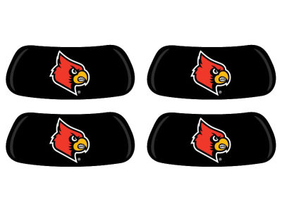 Louisville Cardinals 2 Pair Eyeblack Sticker