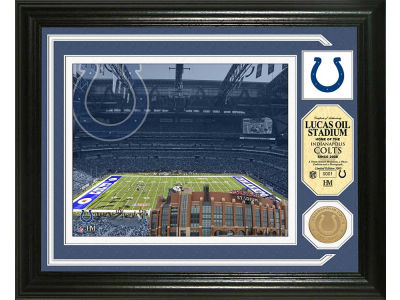 Indianapolis Colts Lucas Oil Stadium Photo Mint Coin-Bronze