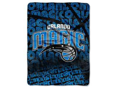 "Orlando Magic Micro Raschel Throw 46x60 ""Redux"""