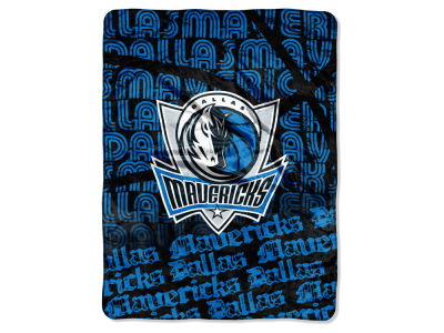 "Dallas Mavericks Micro Raschel Throw 46x60 ""Redux"""