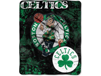 Boston Celtics 50x60in Plush Throw Drop Down