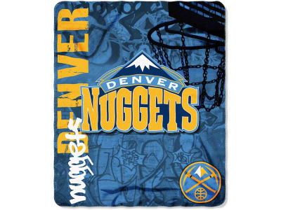 Denver Nuggets 50x60in Hard Knocks Polar Fleece