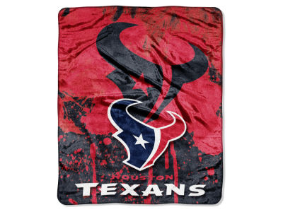 Houston Texans 50x60in Plush Throw Roll Out