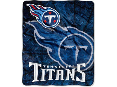 Tennessee Titans 50x60in Plush Throw Roll Out