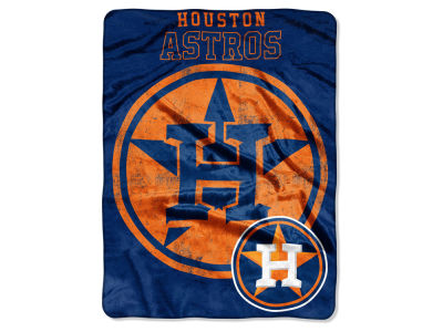 Houston Astros Micro Raschel 46x60 Triple Play