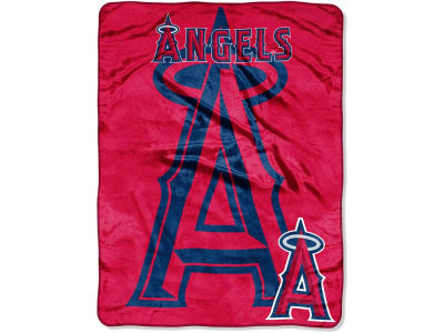 Los Angeles Angels Micro Raschel 46x60 Triple Play