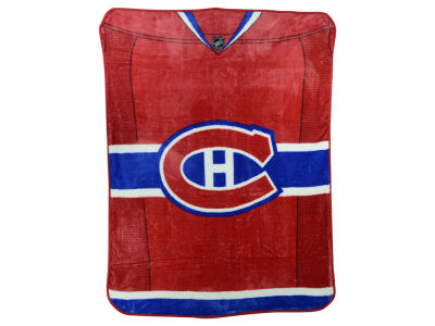 Montreal Canadiens 50x60in Plush Throw Jersey
