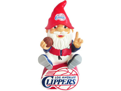 Los Angeles Clippers Gnome Sitting on Logo
