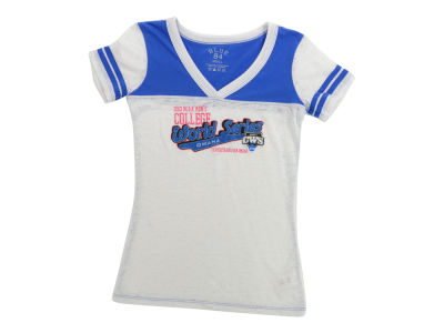 Blue 84 NCAA Juniors Globule Jersey T-Shirt