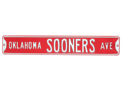 Oklahoma Sooners Authentic Street Sign Avenue