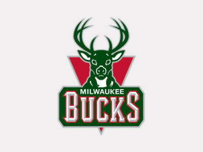 Milwaukee Bucks 4x4 Die Cut Decal Color