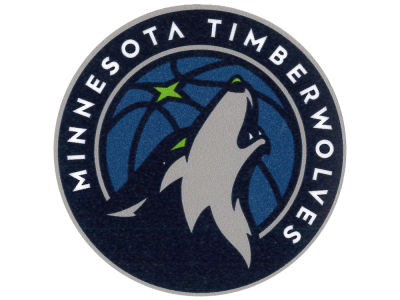Minnesota Timberwolves 4x4 Die Cut Decal Color