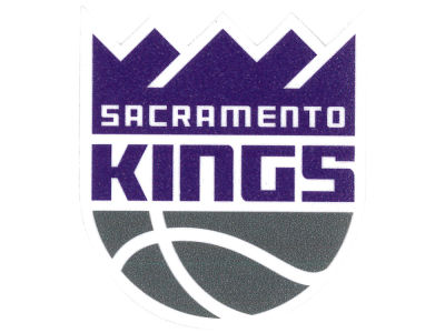 Sacramento Kings 4x4 Die Cut Decal Color
