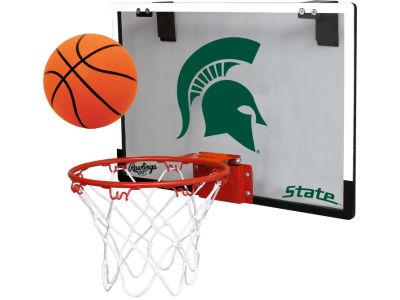 Michigan State Spartans Game On Polycarb Hoop Set