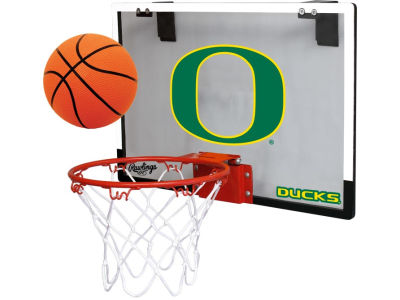 Oregon Ducks Game On Polycarb Hoop Set