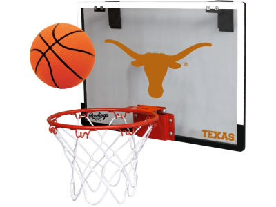 Texas Longhorns Game On Polycarb Hoop Set