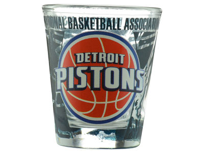 Detroit Pistons 3D Wrap Color Collector Glass - CA