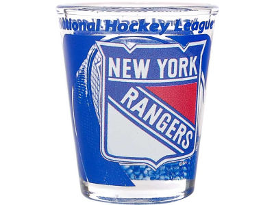 New York Rangers 3D Wrap Color Collector Glass - CA