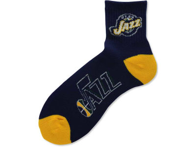 Utah Jazz For Bare Feet Ankle TC 501 Socks