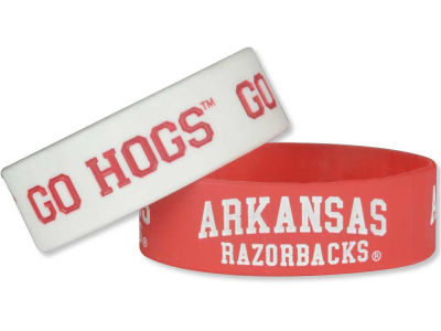 Arkansas Razorbacks Aminco 2-pack Wide Bracelet