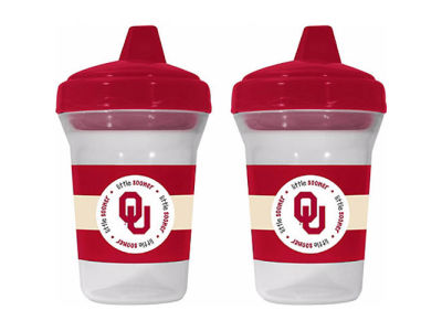 Oklahoma Sooners 2-pack Sippy Cup Set