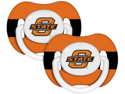 Oklahoma State Cowboys 2-pack Pacifier Set