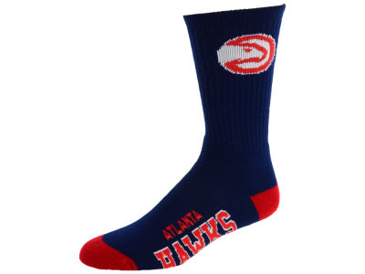 Atlanta Hawks For Bare Feet Deuce Crew 504 Socks