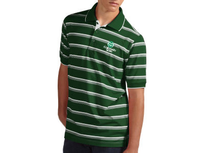 Colorado State Rams NCAA Sideline Stripe Polo