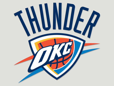 Oklahoma City Thunder Die Cut Color Decal 8in X 8in