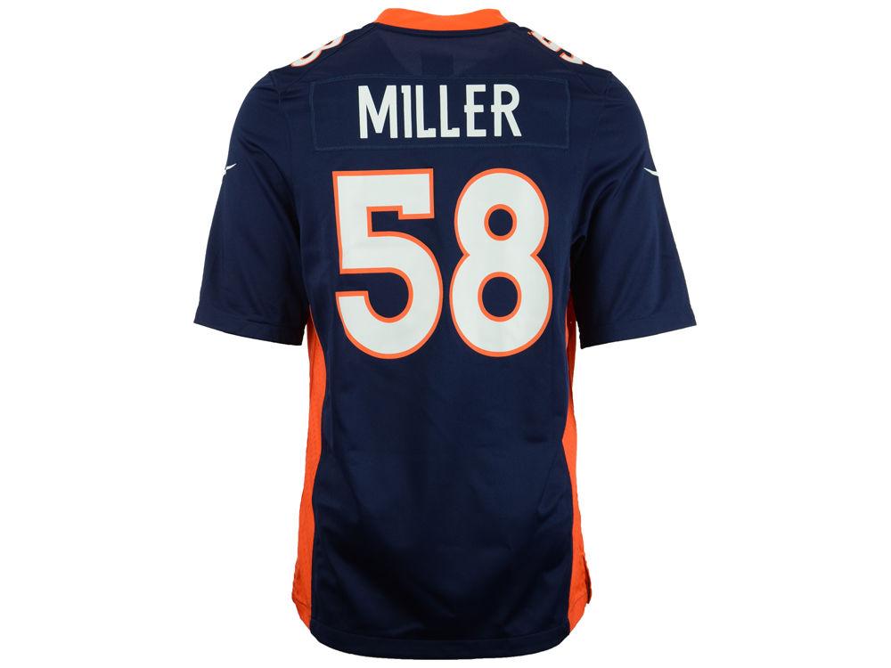 efb338a8e Denver Broncos Von Miller Nike NFL Men s Game Jersey