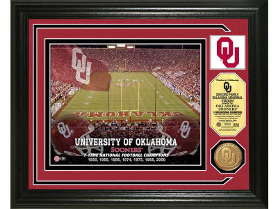 Oklahoma Sooners Photo Mint Coin-Bronze