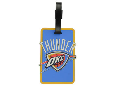 Oklahoma City Thunder Soft Bag Tag