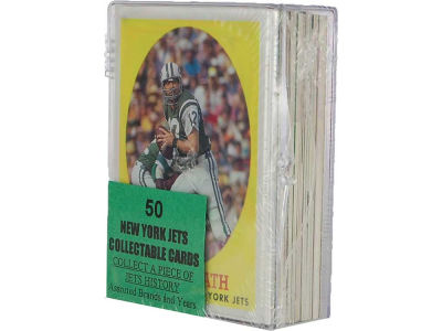 New York Jets 50 Card Pack-Assorted