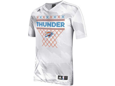 Oklahoma City Thunder adidas NBA Men's Christmas Day Shooting T-Shirt