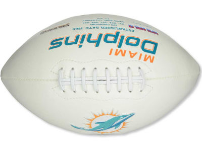 Miami Dolphins Signature Series Football