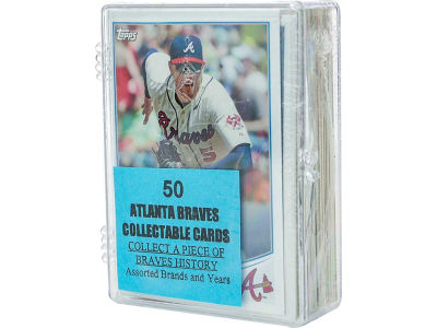 Atlanta Braves 50 Card Pack-Assorted
