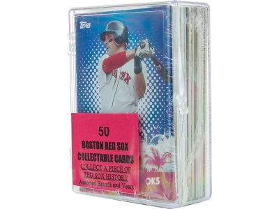 Boston Red Sox 50 Card Pack-Assorted