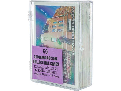 Colorado Rockies 50 Card Pack-Assorted