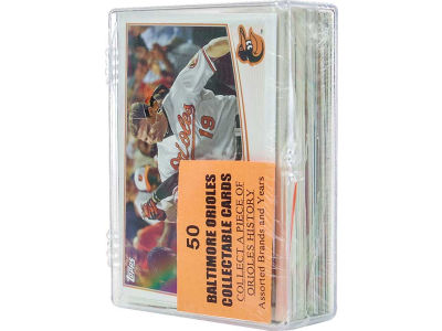 Baltimore Orioles 50 Card Pack-Assorted
