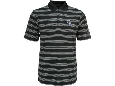 Colorado Rockies Nike MLB Men's Tech Core Stripe Polo Shirt