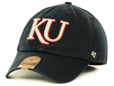 Kansas Jayhawks '47 NCAA Navy '47 FRANCHISE Cap
