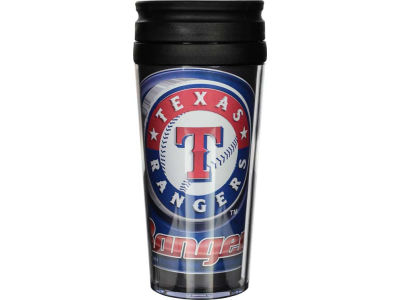 Texas Rangers 16oz Travel Tumbler