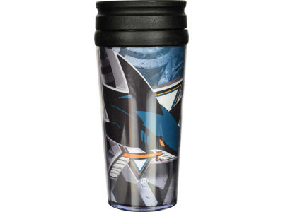 San Jose Sharks 16oz Travel Tumbler