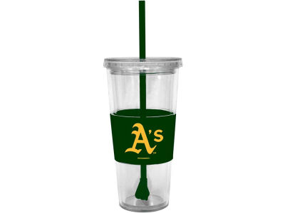 Oakland Athletics 22oz. Tumbler with Straw